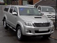 Used Toyota Hilux 3.0 D4D Invincible Doublecab - FACELIFT - 12k Miles - Leather - Load Canopy
