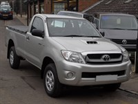 Used Toyota Hilux 2.5 D4D HL2 Singlecab 4x4 - NO VAT - 19k MILES ONLY - ONE OWNER