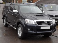 Used Toyota Hilux 3.0 D4D Invincible Doublecab Auto - WITH CANOPY/LEATHER/NAV/TOWBAR