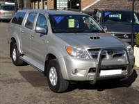 Used Toyota Hilux 3.0 D4D HL3 Auto Doublecab - NO VAT - 33000 MILES ONLY - WITH CANOPY