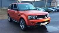 Used Land Rover Range Rover Sport SDV6 HSE RED Edition 5dr A