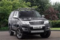 Used Toyota Hilux Invincible X D/Cab Pick Up D-4D 4WD 171 Auto