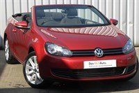 Used VW Golf Cabriolet TDI BlueMotion Tech SE 2dr