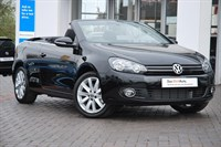 Used VW Golf Cabriolet TDI BlueMotion Tech SE 2dr DSG