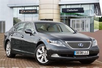 Used Lexus LS Saloon 600h L 4dr CVT Auto (Rear Relaxation Pack)