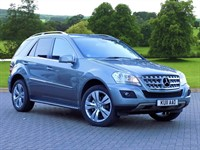 Used Mercedes ML300 M Class Station Wagon CDi BlueEFFICIENCY (204) Sport 5dr Tip Auto