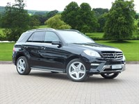 Used Mercedes ML350 M Class Station Wagon CDi BlueTEC AMG Sport 5dr Auto