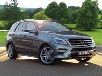 Used Mercedes ML350 M Class Station Wagon CDi BlueTEC AMG Line 5dr Auto (Premium Plus)