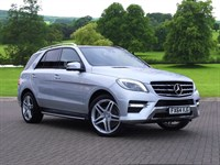 Used Mercedes ML350 M Class Station Wagon CDi BlueTEC AMG Line 5dr Auto (Premium)