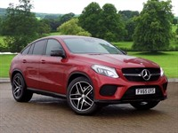 Used Mercedes GLE Coupe 350d 4Matic AMG Line 5dr 9G-Tronic