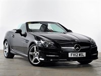 Used Mercedes 200 SLK Roadster BlueEFFICIENCY AMG Sport 2dr Tip Auto