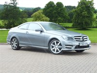 Used Mercedes C250 C Class Coupe BlueEFFICIENCY AMG Sport 2dr Auto