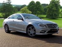 Used Mercedes E220 E Class CDI BlueEFFICIENCY Sport 2dr Tip Auto