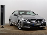Used Mercedes E220 E Class Coupe CDI BlueEFFICIENCY Sport 2dr Tip Auto