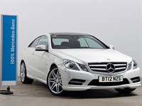 Used Mercedes E220 E Class Coupe CDI BlueEFFICIENCY Sport 2dr Tip Auto