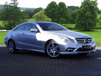 Used Mercedes E350 E Class CDI BlueEFFICIENCY Sport 2dr Tip Auto