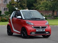 Used Smart Car Fortwo Cabrio Special Editions Grandstyle mhd 2dr Softouch Auto