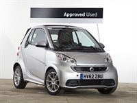 Used Smart Car Fortwo Cabrio Passion mhd 2dr Softouch Auto (2010)