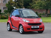 Used Smart Car Fortwo Coupe Pulse mhd 2dr Softouch Auto (2010)