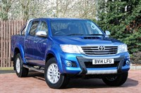 Used Toyota Hilux Invincible D/Cab Pick Up D-4D 4WD 171 Auto
