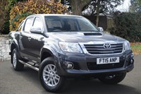 Used Toyota Hilux Invincible D/Cab Pick Up D-4D 4WD 171