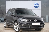 Used VW Tiguan Estate TDi BlueMotion Tech R Line 177 5dr DSG