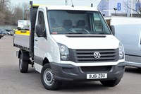 Used VW Crafter CR35 MWB TDI 109PS Chassis Cab