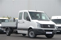 Used VW Crafter CR35 LWB TDI 109PS Double Cab