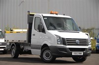Used VW Crafter CR35 MWB TDI 109PS Tipper 'Engineered to Go'