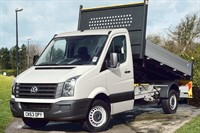 Used VW Crafter CR35 MWB TDI 136PS Tipper 'Engineered to Go'