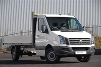 Used VW Crafter CR35 LWB TDI 109PS Dropside 'Engineered to Go'