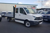 Used VW Crafter CR35 LWB TDI 136PS Double Cab Dropside