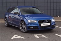 Used Audi A4 Avant Special Editions TDI 150 Black Edition 5dr Multitronic (Nav)