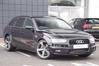 Used Audi A4 Avant Special Editions TDI 143 Black Edition 5dr Multitronic