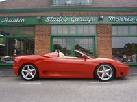 Used Ferrari 360 Spider F1
