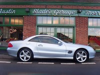 Used Mercedes SL500 Convertible