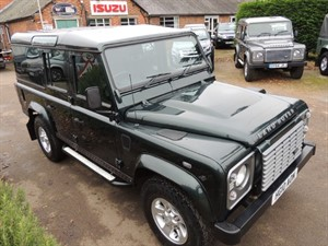 Used Land Rover Defender 110 TDI XS UTILITY WAGON DCB in Bedford