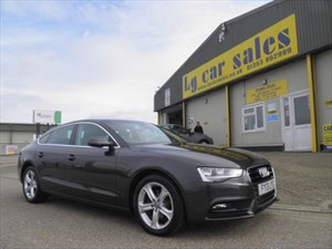used Audi A5 SPORTBACK TDI SE TECHNIK in cambridgeshire