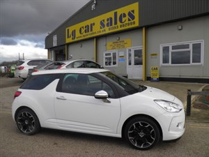 used Citroen DS3 HDI BLACK AND WHITE in ely-cambridgeshire