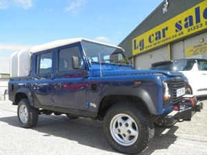 used Land Rover Defender 110 TD5 DOUBLE CAB LWB in ely-cambridgeshire