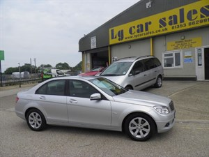 used Mercedes C180 CGI BLUEEFFICIENCY SE in ely-cambridgeshire