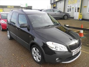used Skoda Roomster Scout in ely-cambridgeshire