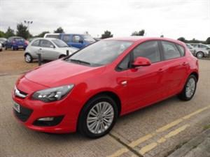 used Vauxhall Astra ENERGY CDTI in ely-cambridgeshire