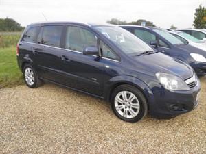used Vauxhall Zafira DESIGN CDTI ECOFLEX in ely-cambridgeshire