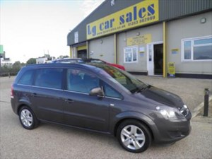 used Vauxhall Zafira Exclusiv in cambridgeshire
