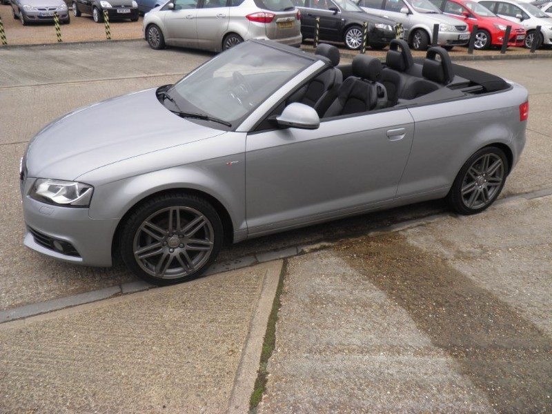 used Audi A3 TDI S LINE SPECIAL EDITION in ely-cambridgeshire