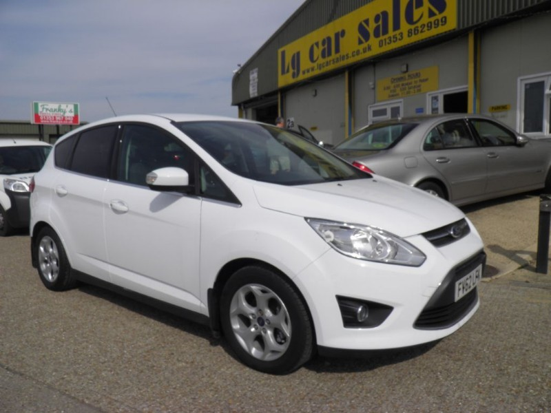 used Ford C-Max ZETEC in ely-cambridgeshire