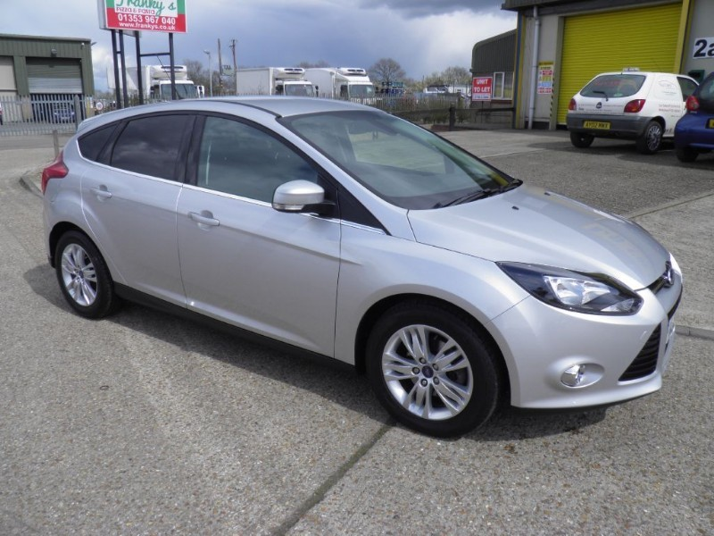 used Ford Focus TITANIUM NAVIGATOR TDCI in ely-cambridgeshire
