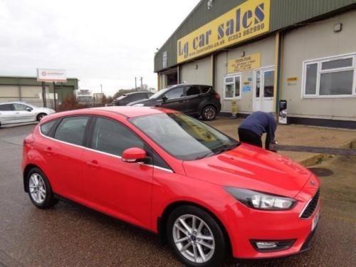 used Ford Focus ZETEC TDCI in ely-cambridgeshire