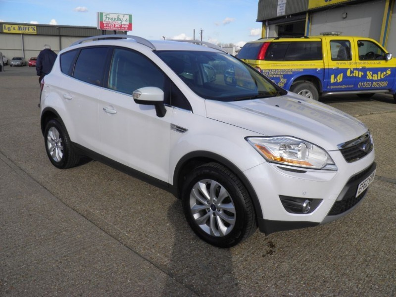 used Ford Kuga TITANIUM TDCI 2WD in ely-cambridgeshire